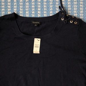 NWT Navy Talbots sweater